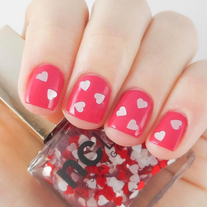 35 Best Valentine S Day Nail Designs Cute Nail Polish Ideas For Valentine S Day