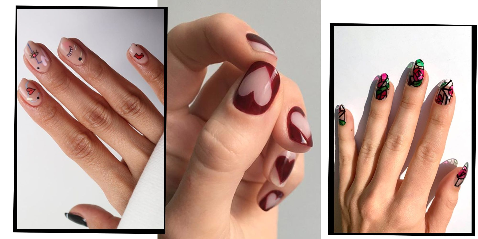 Valentine S Day 2020 14nail Art Designs To Try At Home