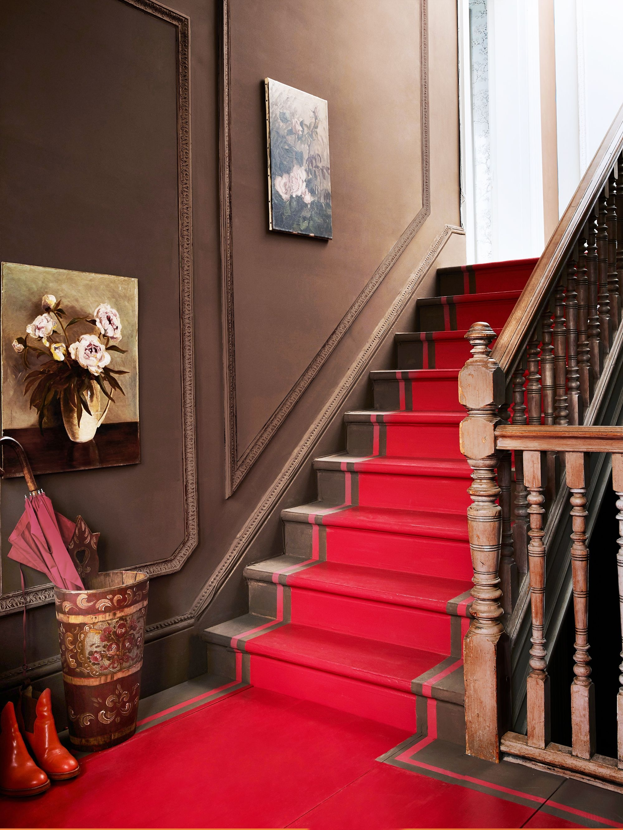 36 Best Wall Art Ideas For Every Room Cool Wall Decor And Prints | Wall Painting Designs For Staircase | Side Wall | Upstairs | Art Staircase | Boy | Creative