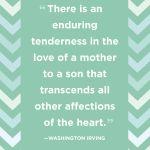 Quote Love Mother Retro Future