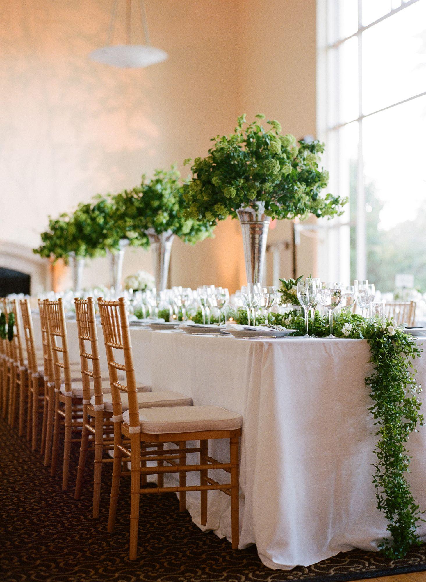 15 Best Greenery Wedding Centerpieces