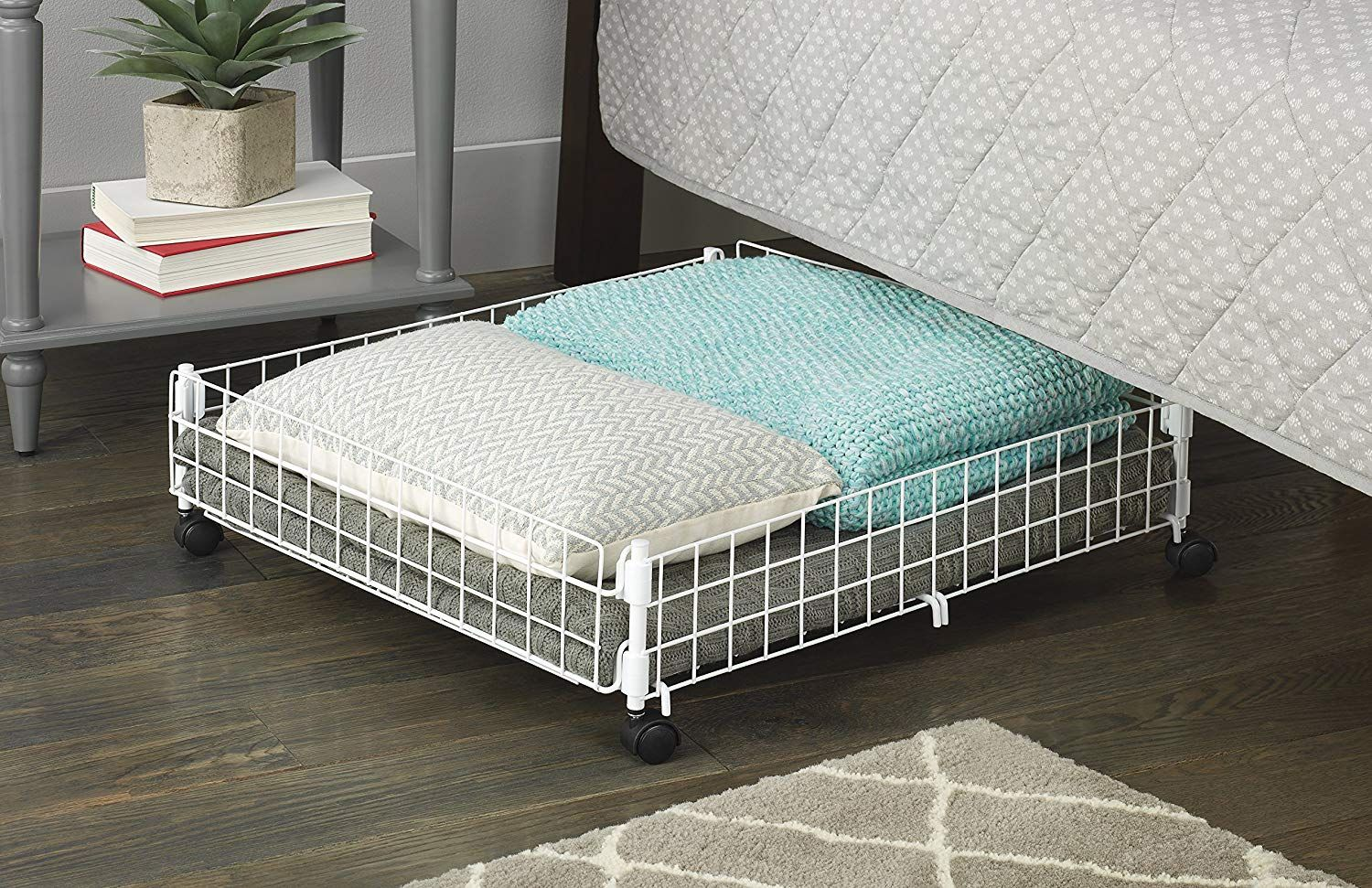 Amazon S Whitmor Rolling Underbed Storage Cart Is Perfect