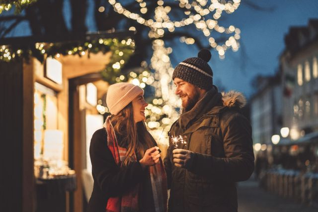 With you by my side I could never get lost! - Christmas vacations
