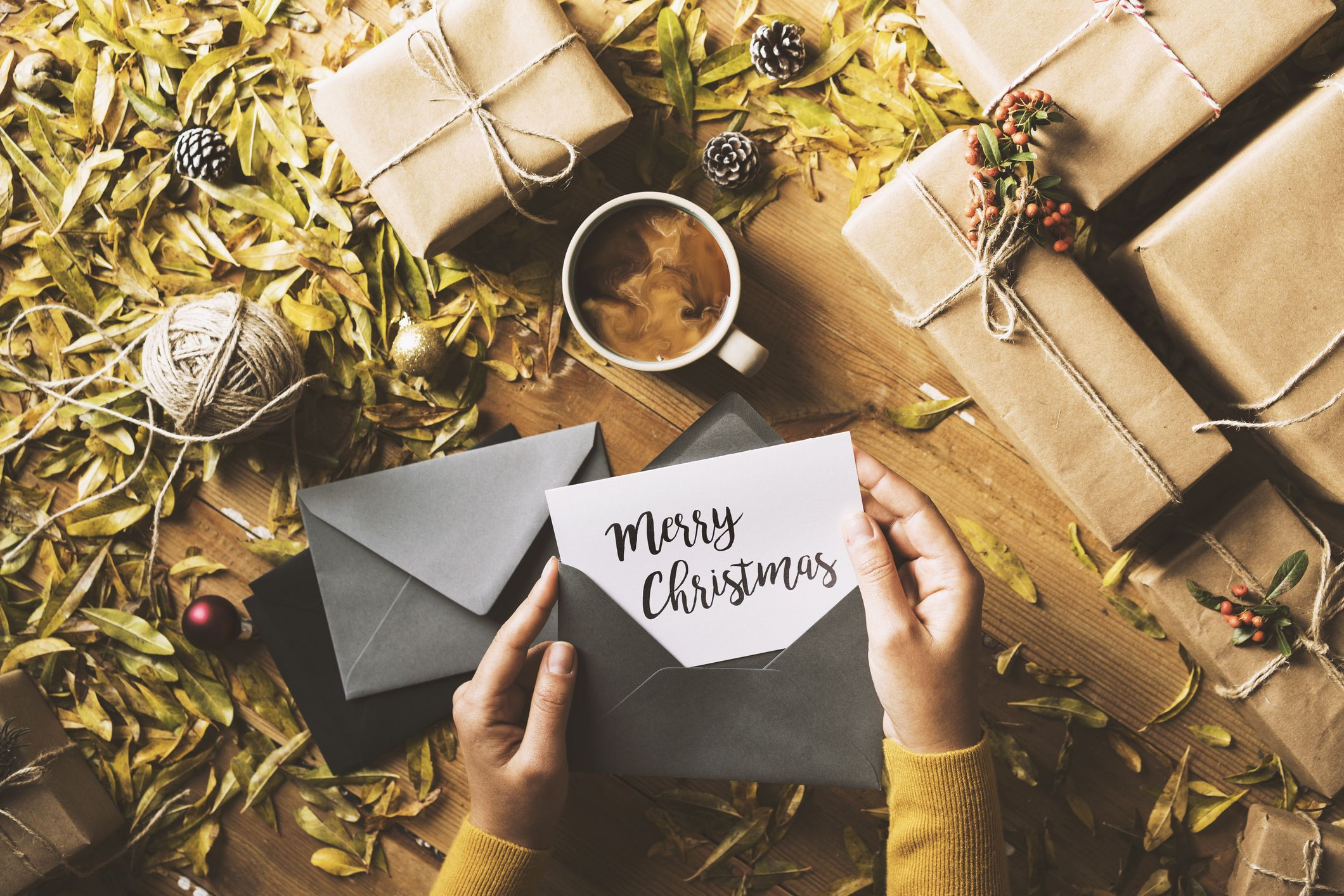 What To Write In A Christmas Card Best Christmas Wishes