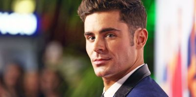Zac Efron Platinum Hair