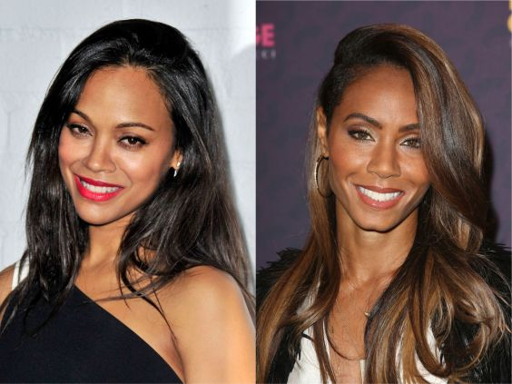 Jada Pinkett-Smith & Zoe Saldana