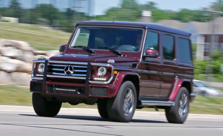 2016 Mercedes-Benz G550 Test – Review – Car and Driver