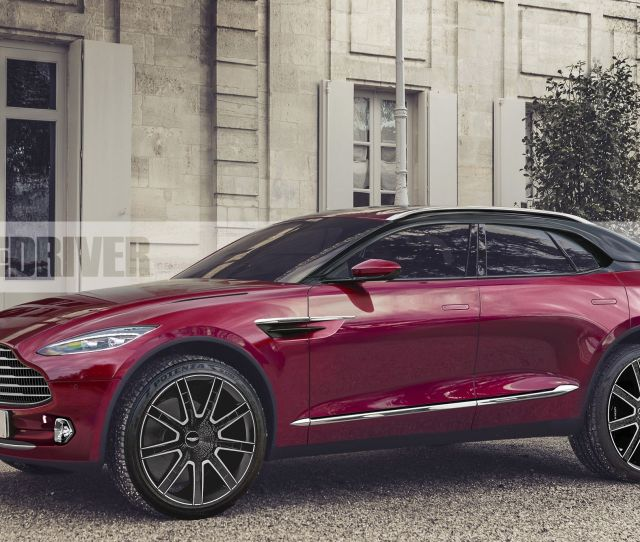 2020 Aston Martin Dbx Yes Aston Is Building A Crossover Suv Type Thingamabob