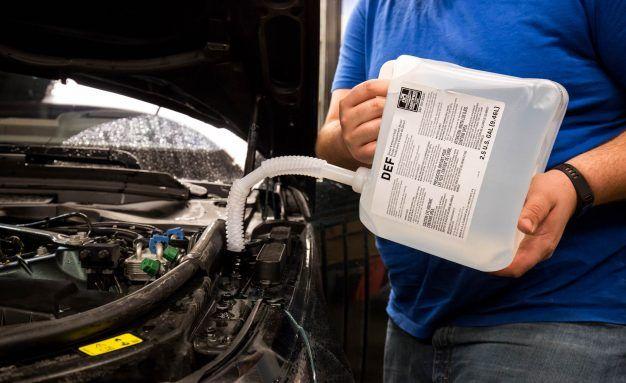 diesel exhaust fluid runs dry
