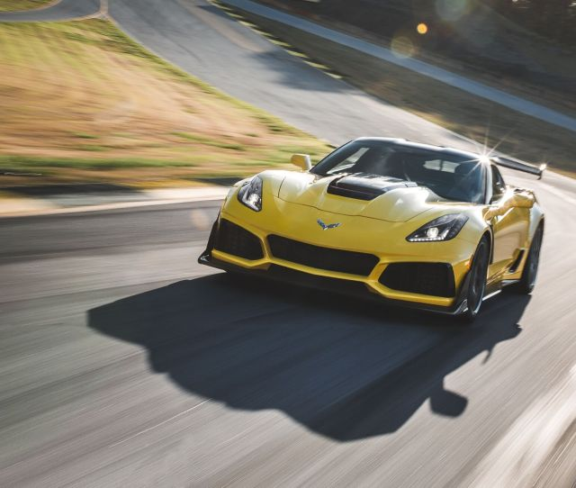 Chevrolet Corvette Zr First Drive The Ultimate Front Engine Corvette Review Car And Driver