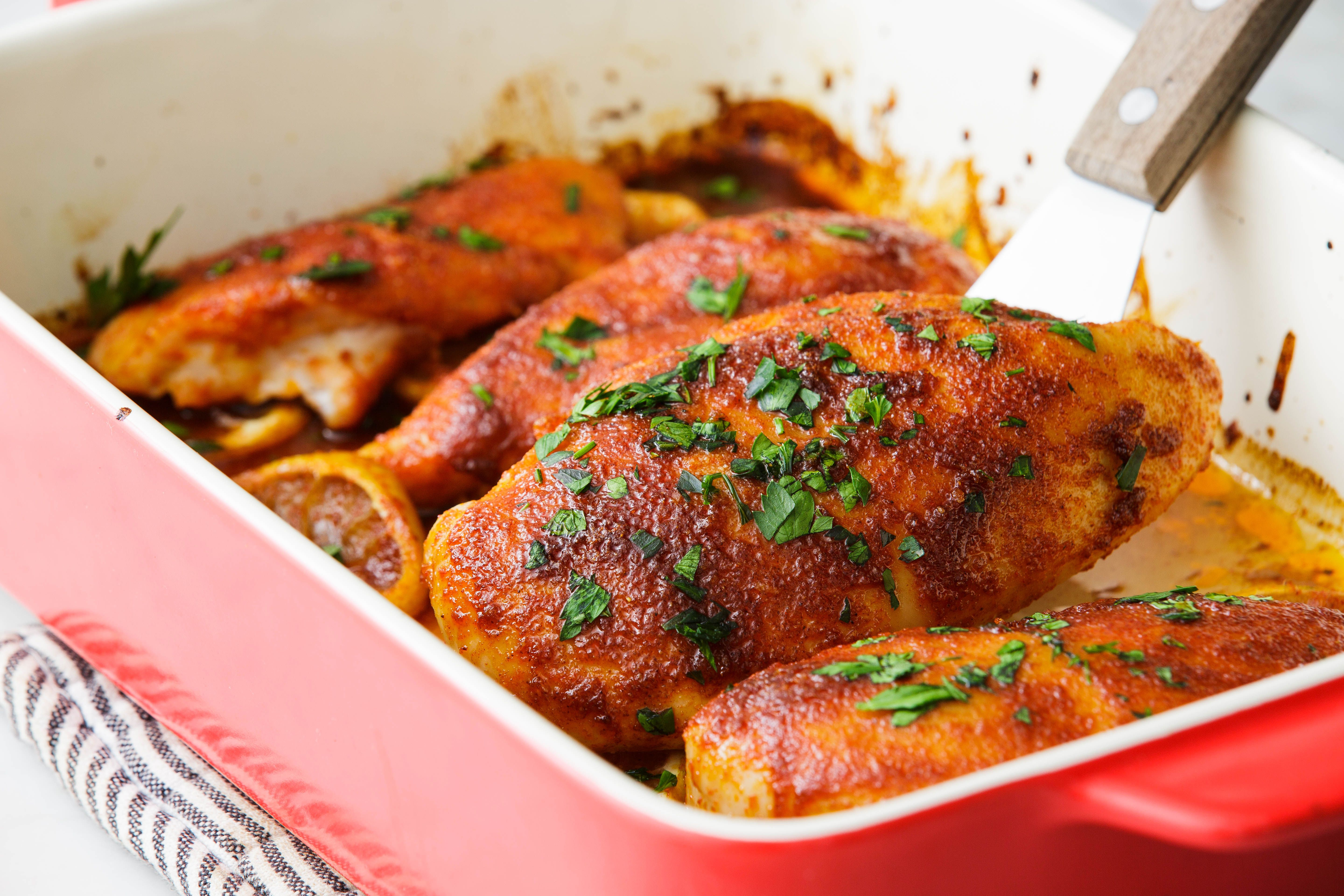 Perfect Baked Chicken Breast