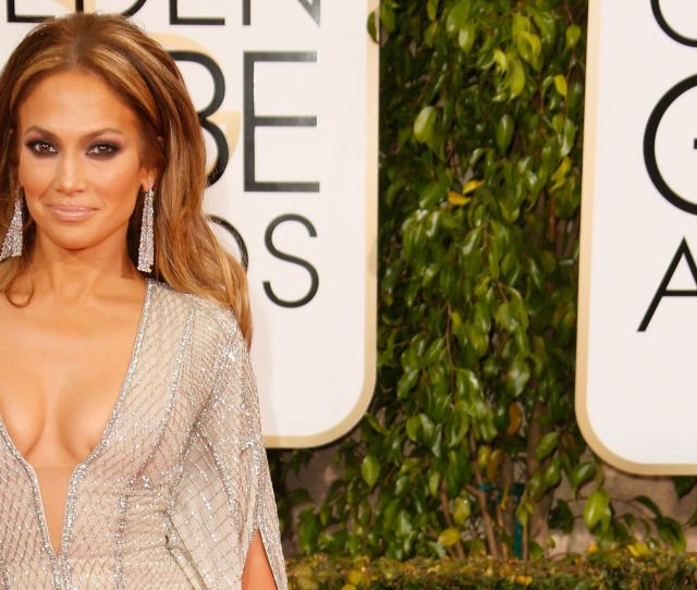Jennifer Lopez Had The Longest Nip Slip In The History Of Mankind At The Golden Globes