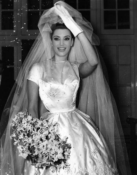 Kim Kardashian S Wedding Dress Revealed
