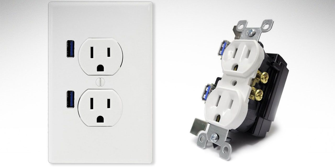 Electrical Cubi Outlet Usb Ports