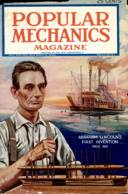 The Time Abraham Lincoln Patented a Boat-Lifter