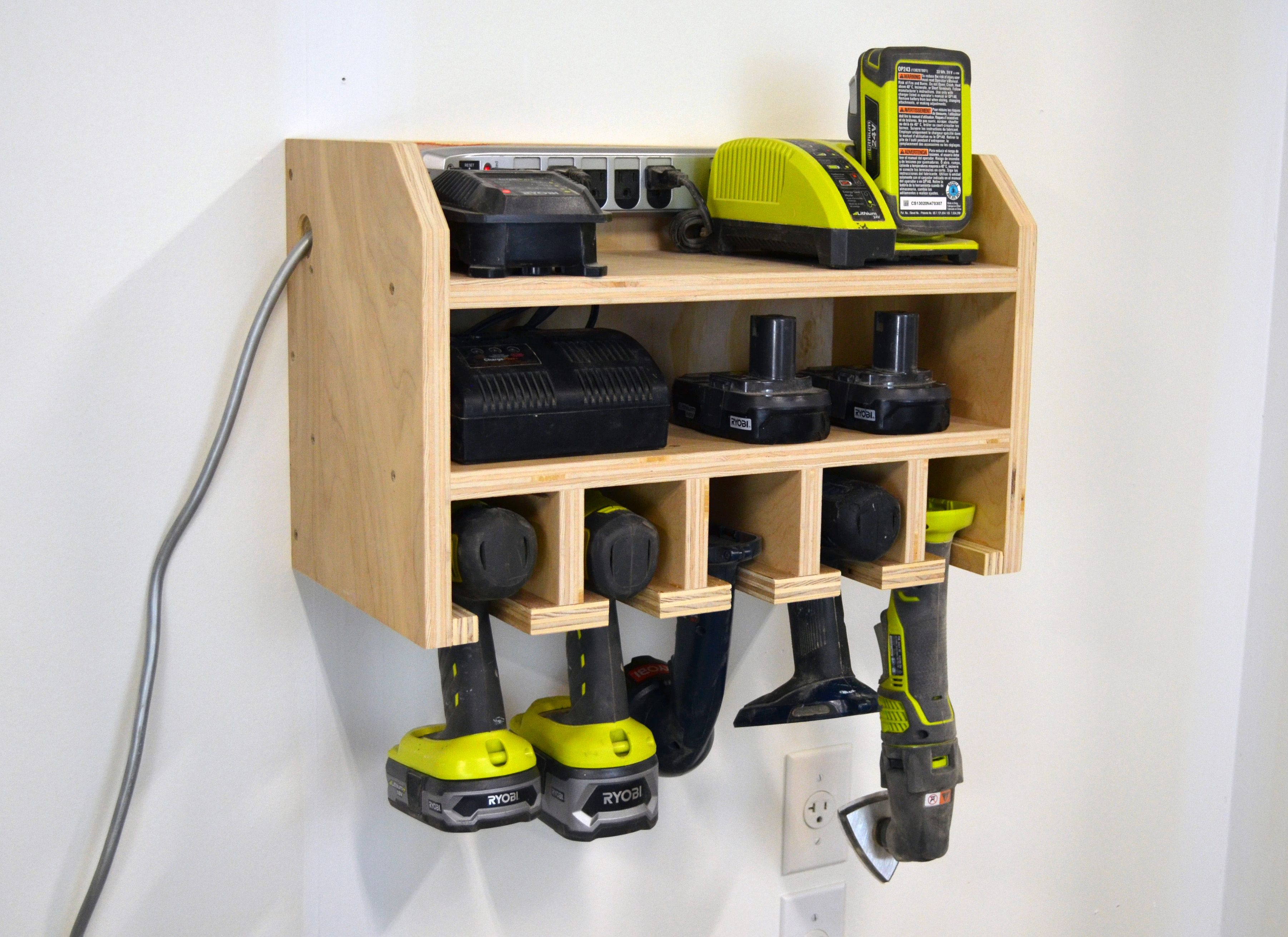 storage dock for your cordless drill