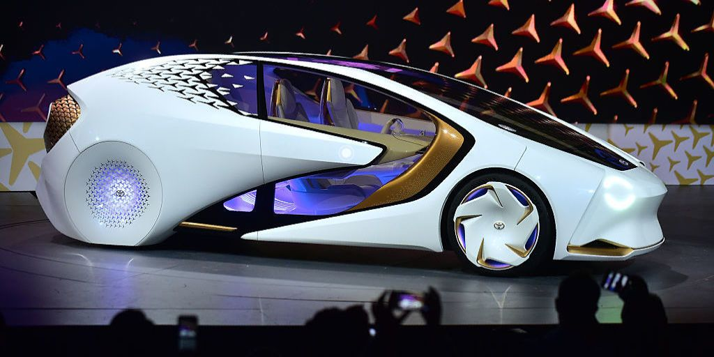 Toyota S Ces Concept Car Is Something Else