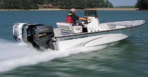 Comparison Test: Five Outboard Motors