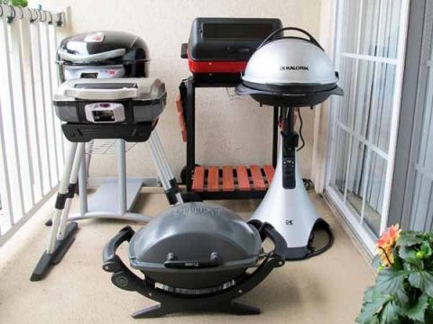 Balcony Bbq We Test 5 Hot Outdoor Electric Grills
