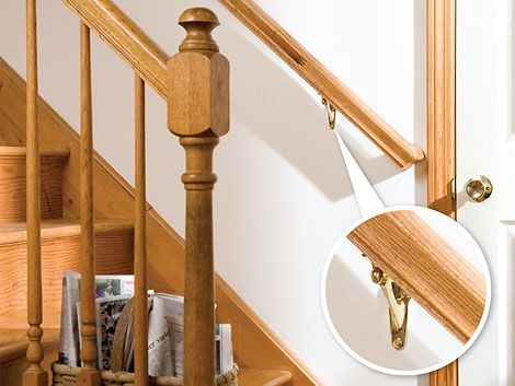 How To Install A Stair Handrail Diy Home | Short Handrail For Stairs | Exterior Handrail Ideas | Deck Railing Ideas | Spiral Staircase | Concrete | Wrought Iron
