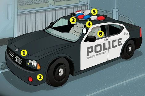 mods for the ultimate high tech police car