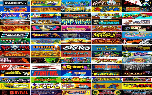 15 Classic Arcade Games You Should Play in Your Web Browser Behold the Internet Arcade  a web based collection of hundreds of games  that span two decades of the arcade golden age  from the 1970s to the 1990s