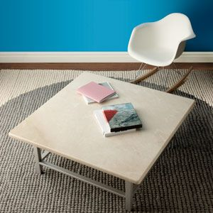 how to build a marble top coffee table