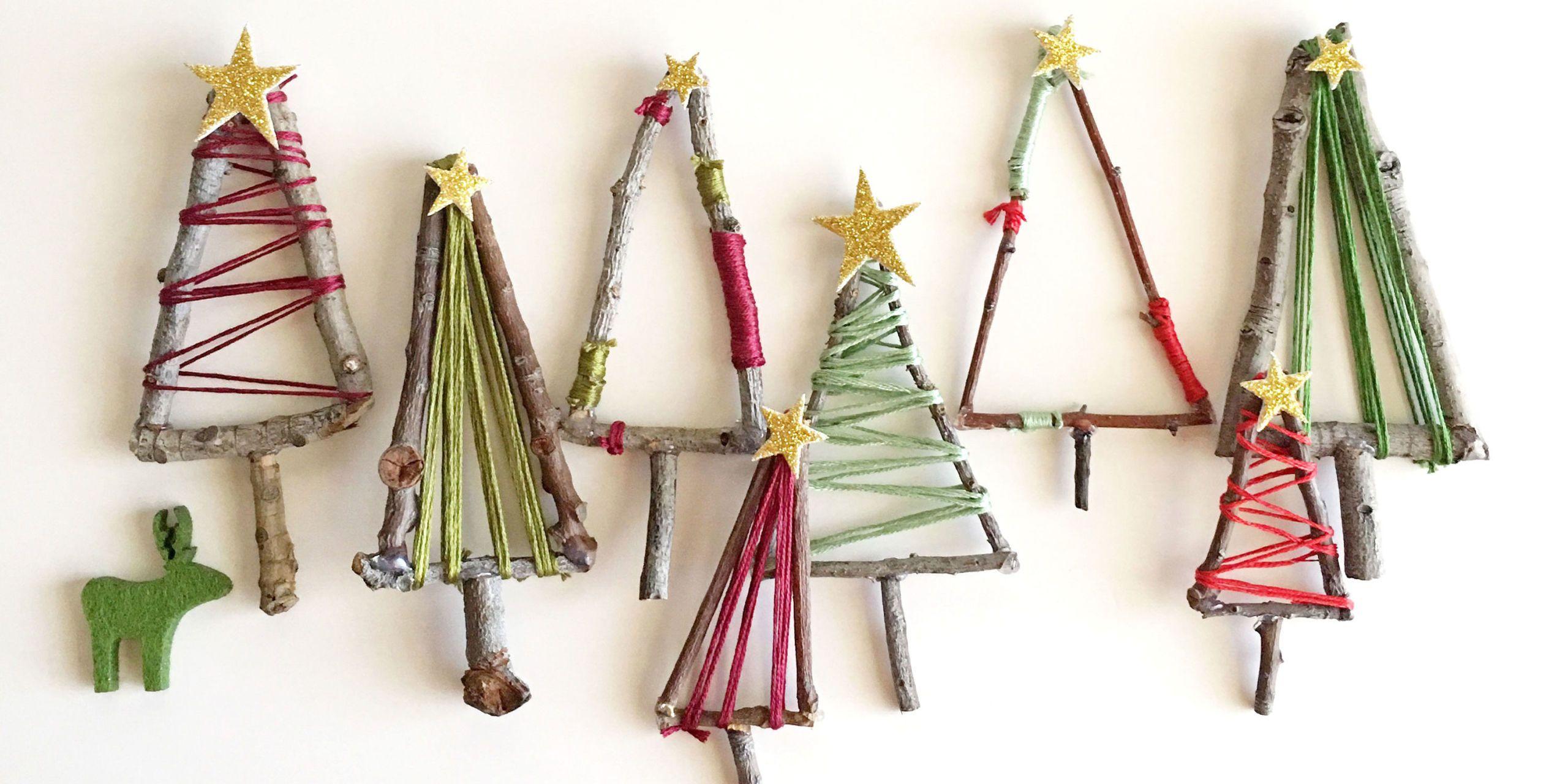 How To Make Mini Christmas Tree Decorations Mini Twig