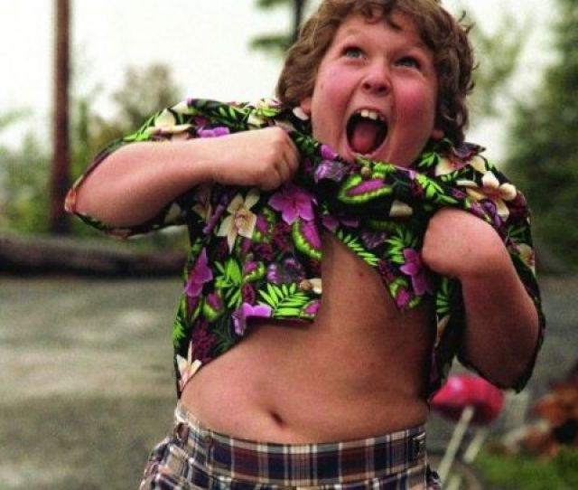 Jeff Cohen As Chunk In The Goonies