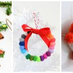 59 Unique Diy Christmas Ornaments Easy Homemade Ornament Ideas
