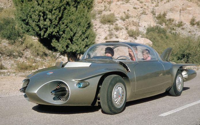 gm's turbine-powered firebird concept cars of the 1950s