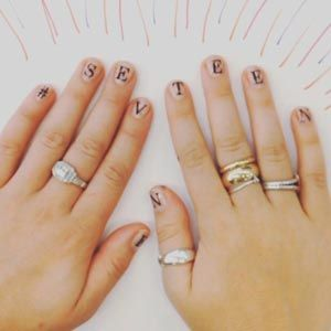 If You Swoon Over All Things Monogrammed Like I Do Need Nails Inc S New Monogram Manicure Whether Want To Spell Out Your Name Or Favorite