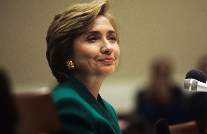 hillary clinton's hair evolution - best hillary clinton