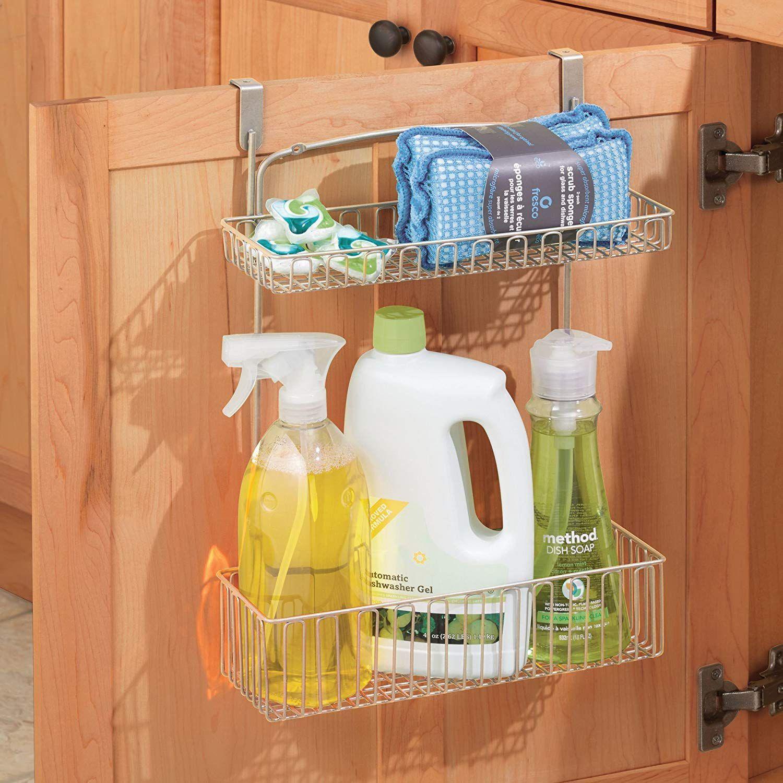 over cabinet storage basket