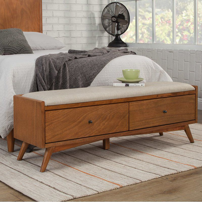 10 Bedroom Storage Bench Ideas For People Low On Closet Space