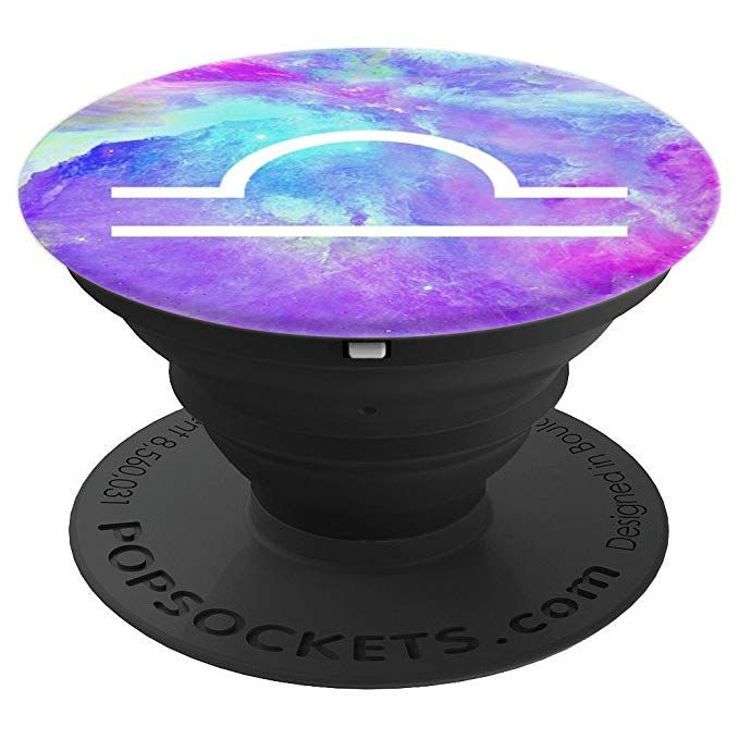 Libra Astrology Galaxy PopSocket