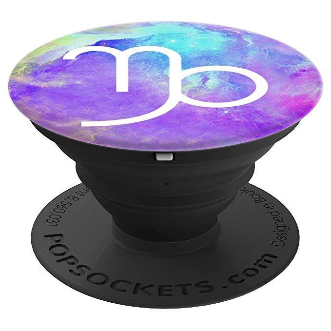Capricon Astrology Galaxy PopSocket