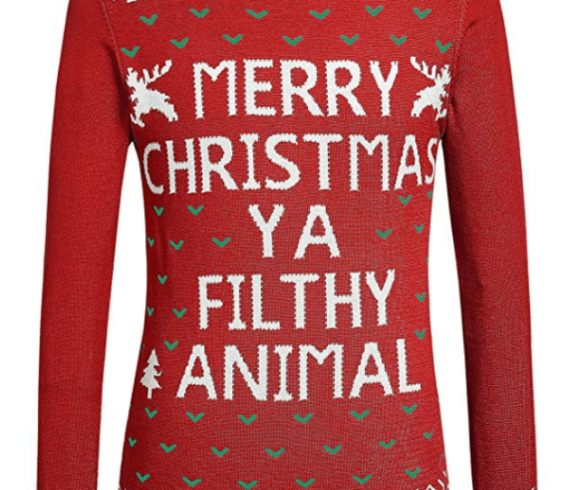 Home Alone Ugly Christmas Sweater