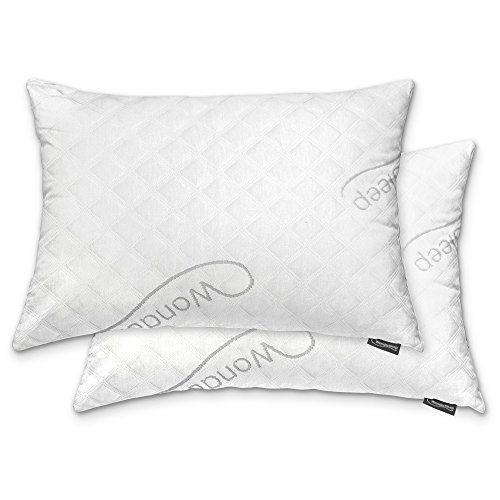 premium adjustable 2 pack memory foam pillows