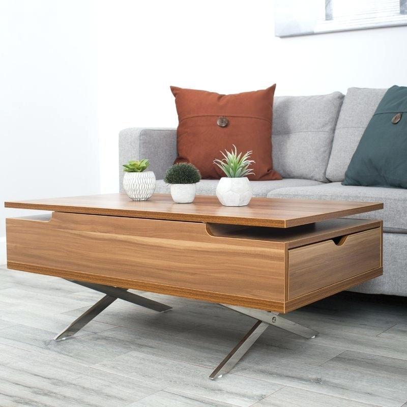 densen lift top coffee table