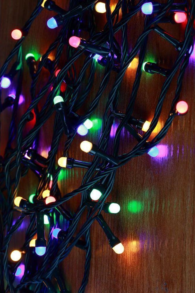 mini globe multi color led lights