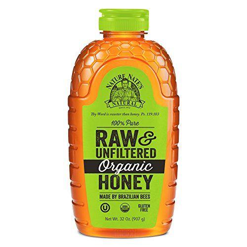 Favorite DIY Mask #2: Nature Nate's 100% Pure Raw & Unfiltered Organic Honey