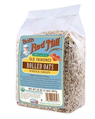 Favorite DIY Mask #2: Bob's Red Mill Organic Rolled Oats