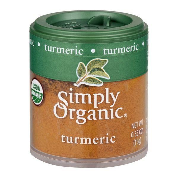Favorite DIY Mask #1: Simply Organic Ground Turmeric