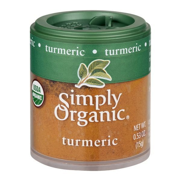 Favorite DIY Mask #1: Simply Organic Ground Turmeric