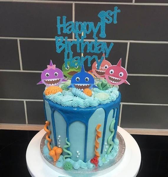 Baby Shark Kids Birthday Parties Are Trending
