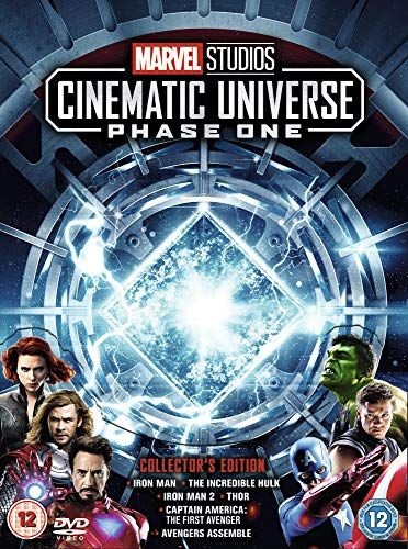 Marvel Studios Phase 1 Collector's Edition Box [DVD]