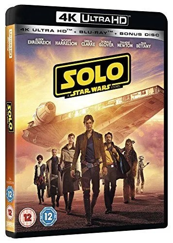 Solo: a story from Star Wars [4K] [Blu-ray] [2018] [Region Free]