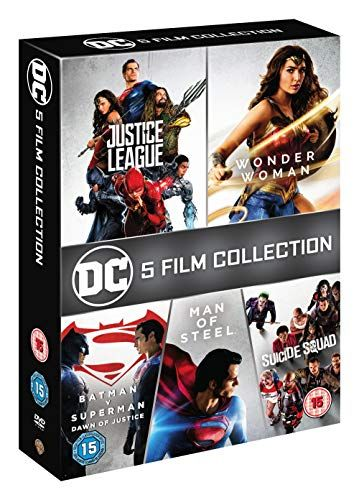 DC Movie Collection 5 [DVD] [2018]