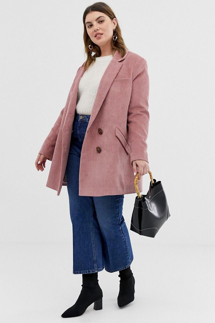 """I'm not ever trying to hide my shape, so I tend to go fitted with my dresses and tops most of the time and I love pairing that with the new oversized blazer trend."""